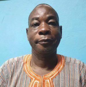 M. KANAZOE Sénon, le nouveau chef de département