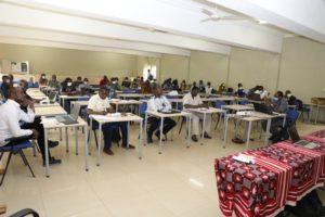 Session de formation des enseignants