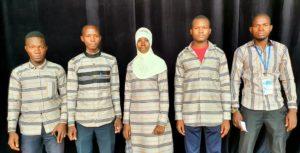 L'équipe des debaters de l'Université Joseph KI-ZERBO