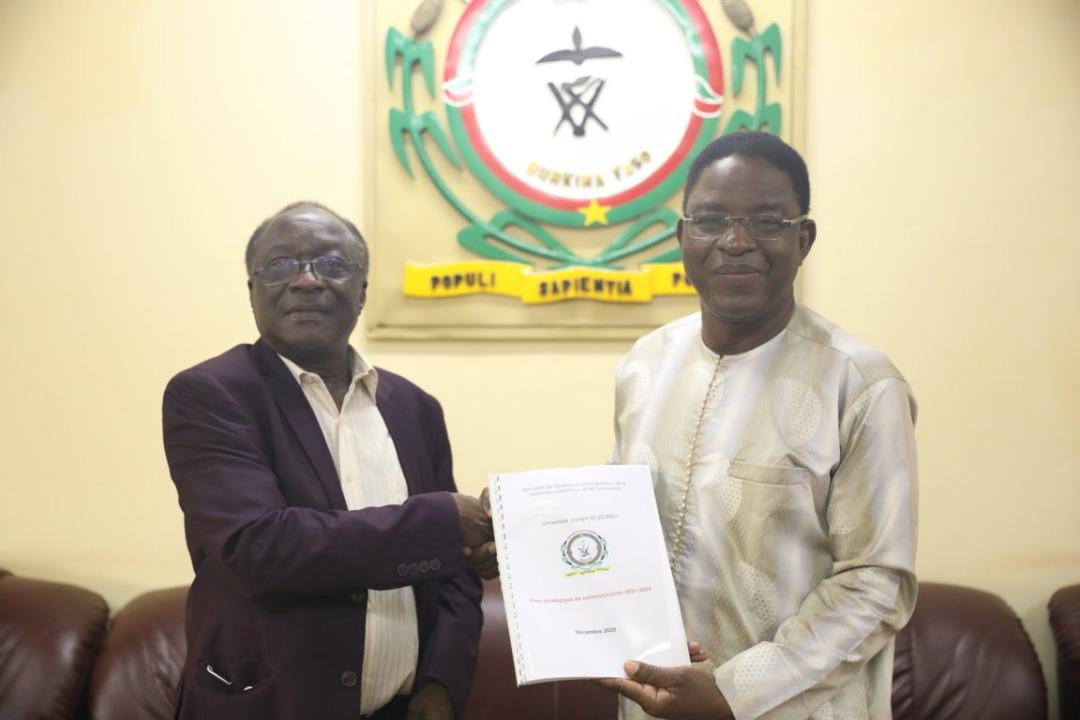 Gouvernance universitaire : L'Université Joseph KI-ZERBO se dote d'un Plan stratégique de communication pour 04 ans