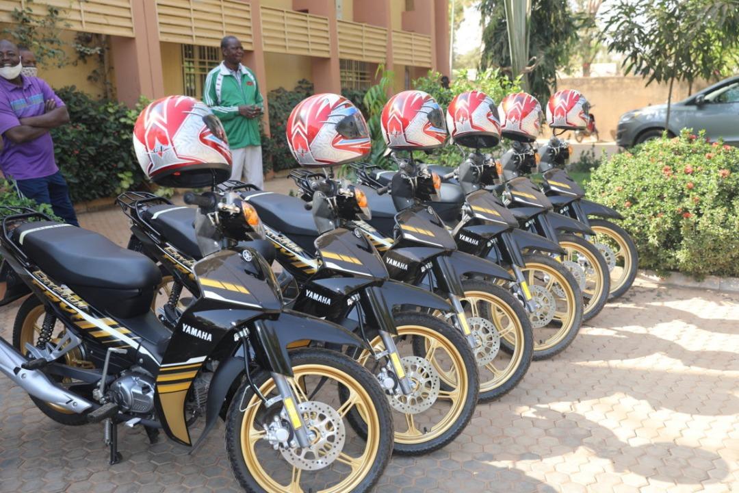 Des engins à deux roues pour le renforcement de la mobilité à l'Université Joseph KI-ZERBO