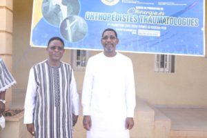 SEM Alassane Bala SANKANDE & le Pr Rabiou CISSE