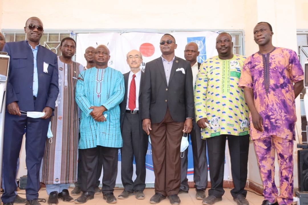 Le Centre universitaire polytechnique de Kaya reçoit la visite de l'Ambassadeur du Japon, des Responsables du PNUD et de l'UNICEF au Burkina