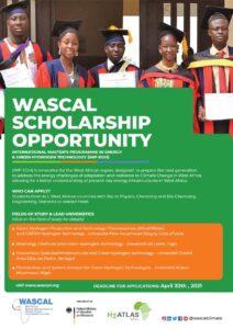 Wascal: appel à candidatures Master Hydrogène vert