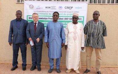 Atelier national de lancement du projet OKP-SHL, au Burkina