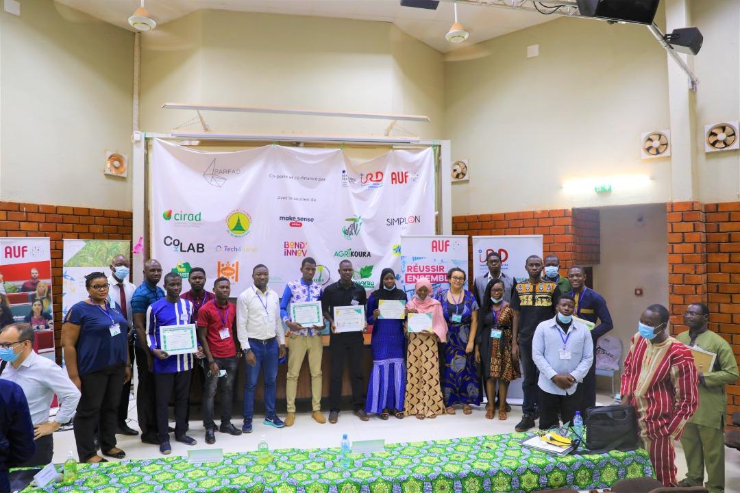 « Week-end des solutions » organisé par l'AUF et l'IRD : quatre projets en agroécologie primés.