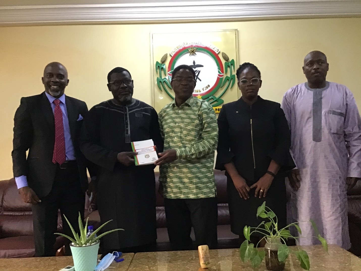 Visite du Président du Conseil d'Administration (PCA) de WASCAL