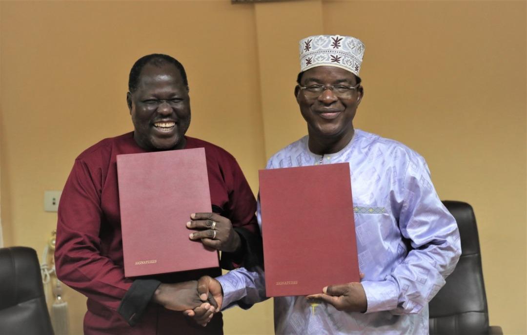 Signature de convention-cadre de partenariat entre l'ENSP et l'Université Joseph KI-ZERBO