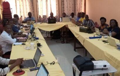 Atelier d'analyse et de traitement de données de l'autoévaluation institutionnelle de l'Université Joseph KI-ZERBO