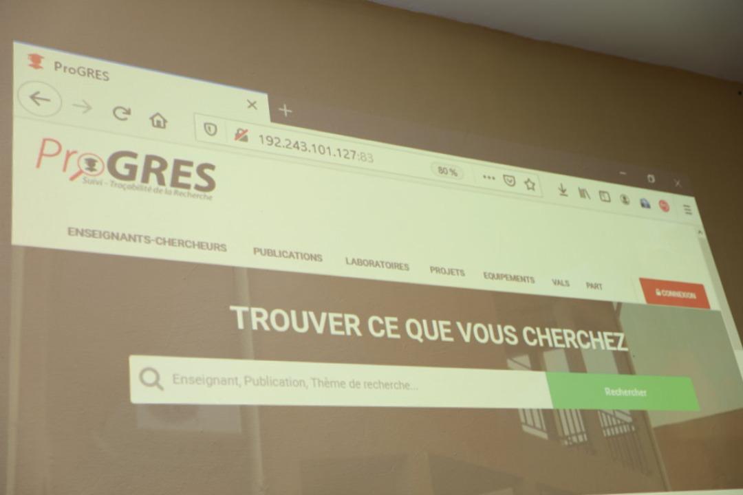 Promotion de la recherche : l'UFR/SEA présente une solution informatique à l'UJKZ