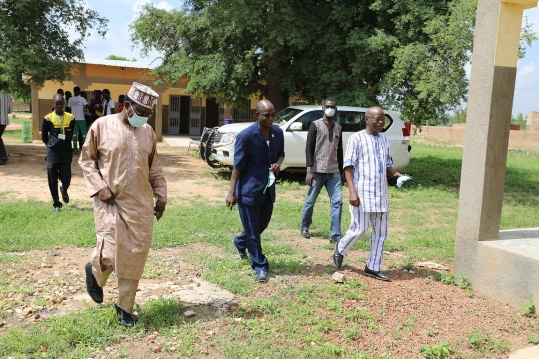 Gouvernance universitaire : le Président était en tournée dans les centres universitaires de Ziniaré et Kaya