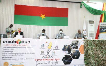 Numérique : 2ème Camp d'idéation avec l'incubateur digital incub@uo de l'Université Joseph KI-ZERBO